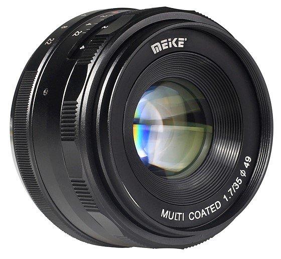 MEIKE 35 mm f/1,7 MC pro Canon EOS M