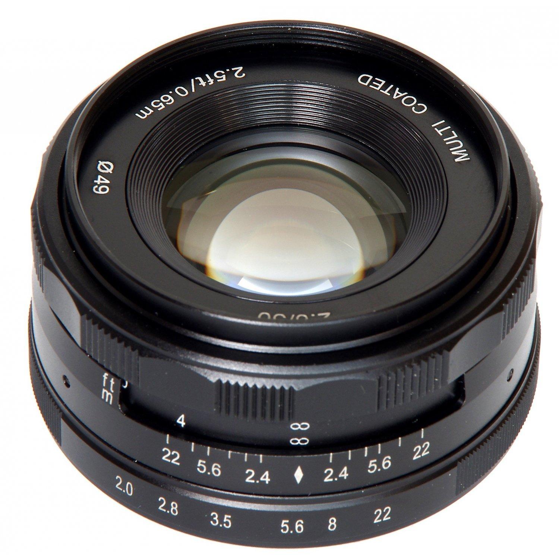 MEIKE 50 mm f/2 MC pro Canon EOS M