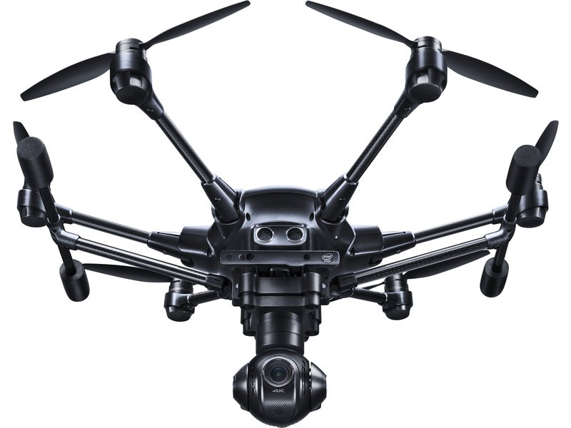 YUNEEC Typhoon H Pro RealSense, 2x aku, batoh - Dron