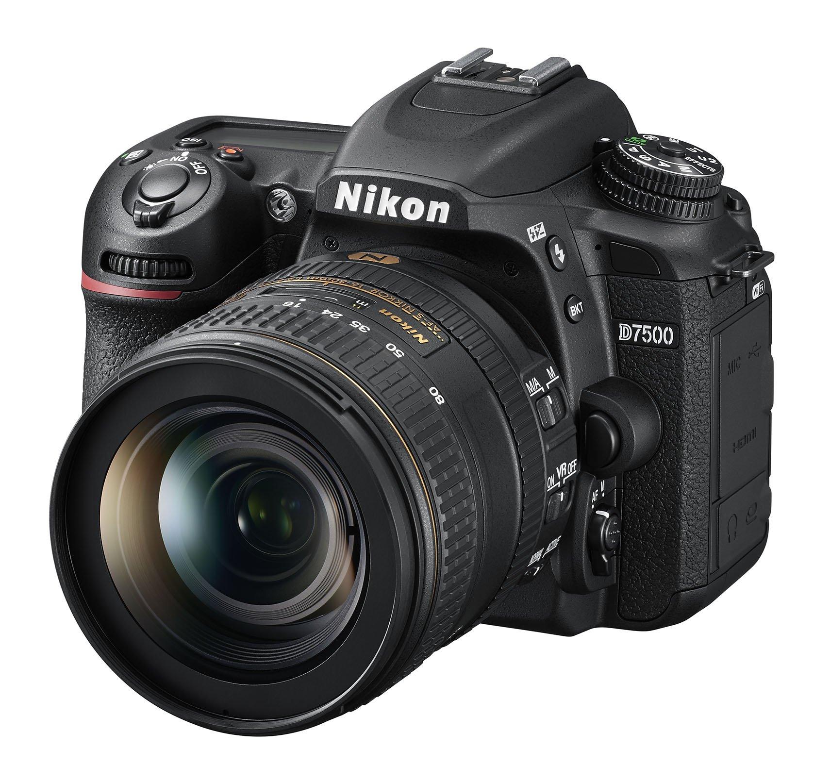 NIKON D7500 + 16–80 mm ED VR