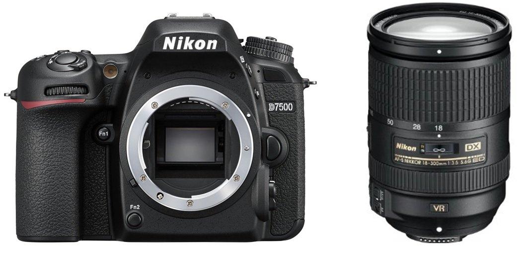 NIKON D7500 + 18–300 mm ED VR