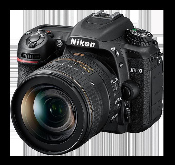 NIKON D7500 + 18–200 mm VR