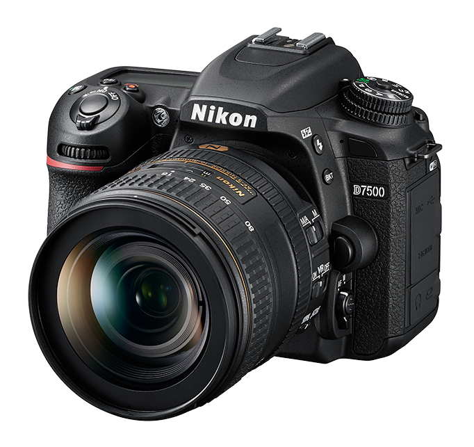 NIKON D7500 tělo + 35 mm DX