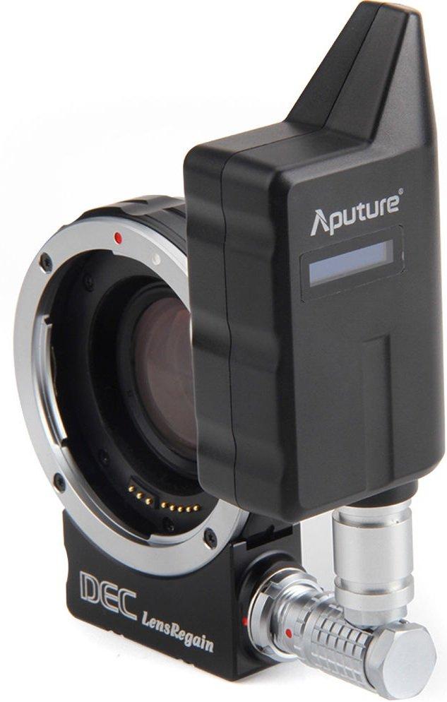APUTURE dálkově ovládaný DEC LensRegain pro objektivy Canon na MFT