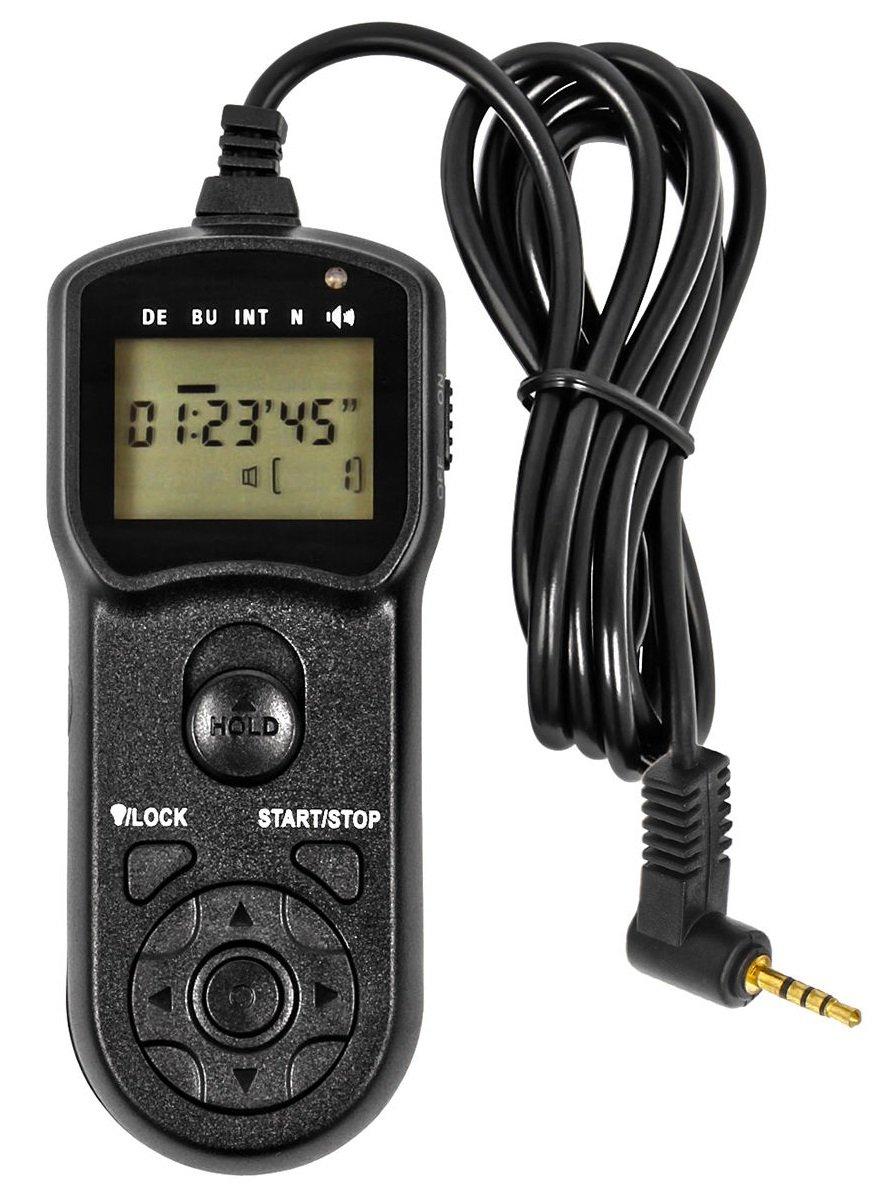 JJC spoušť kabelová s časosběrem TM-PK1 pro Pentax K-70 a KP