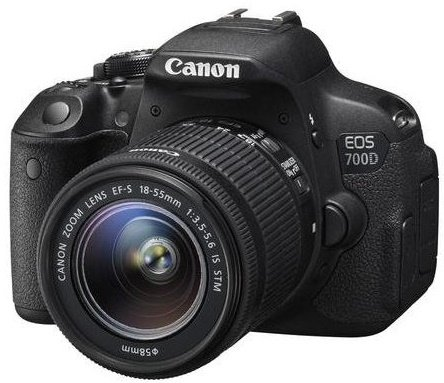 CANON EOS 700D + EF-S 18-55 IS STM + SDHC 16GB
