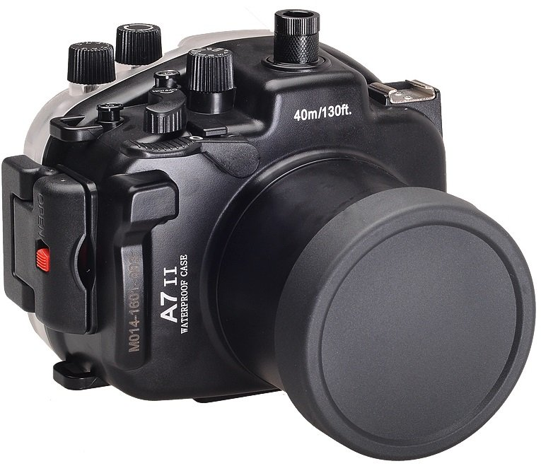 MEIKON podvodní pouzdro pro Sony Alpha A7 MarkII + 28-70 mm