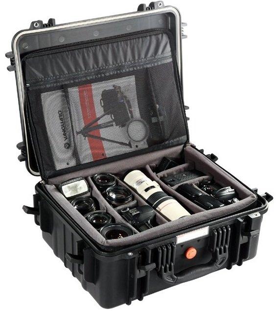 VANGUARD SUPREME 46D - vodotěsný kufr s brašnou