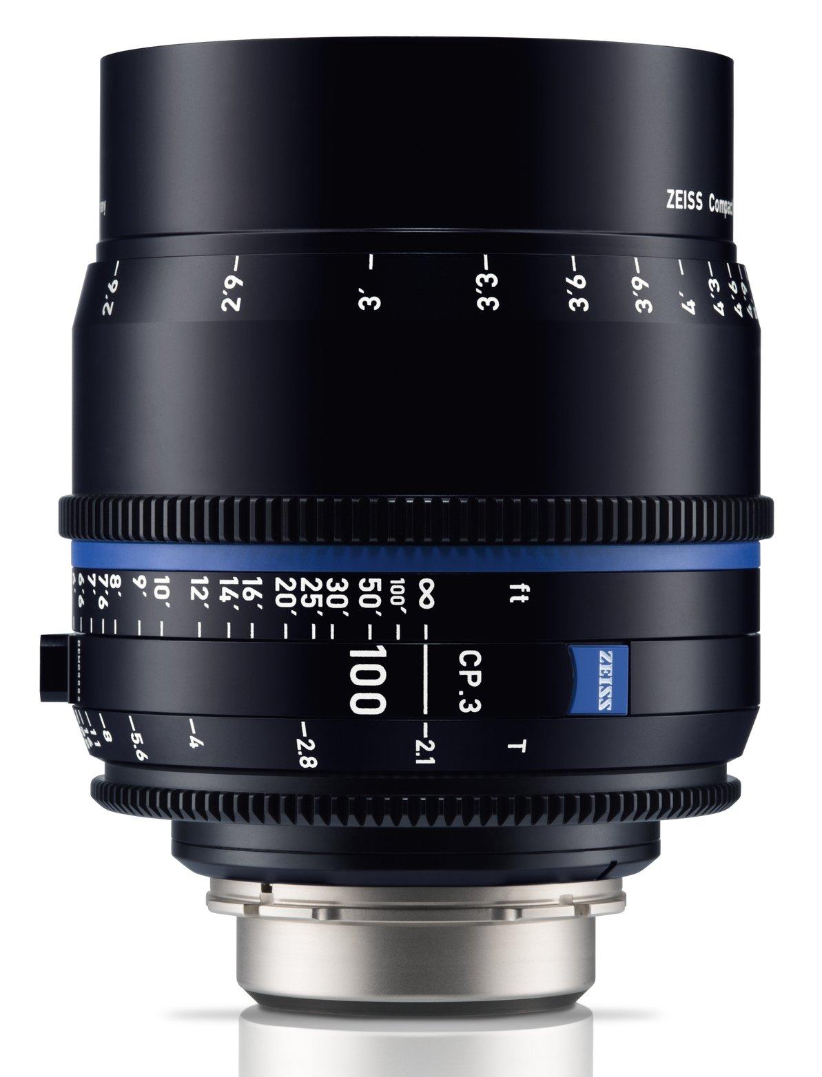 ZEISS CP.3 100 mm T2,1 Close Focus Planar T* F-mount