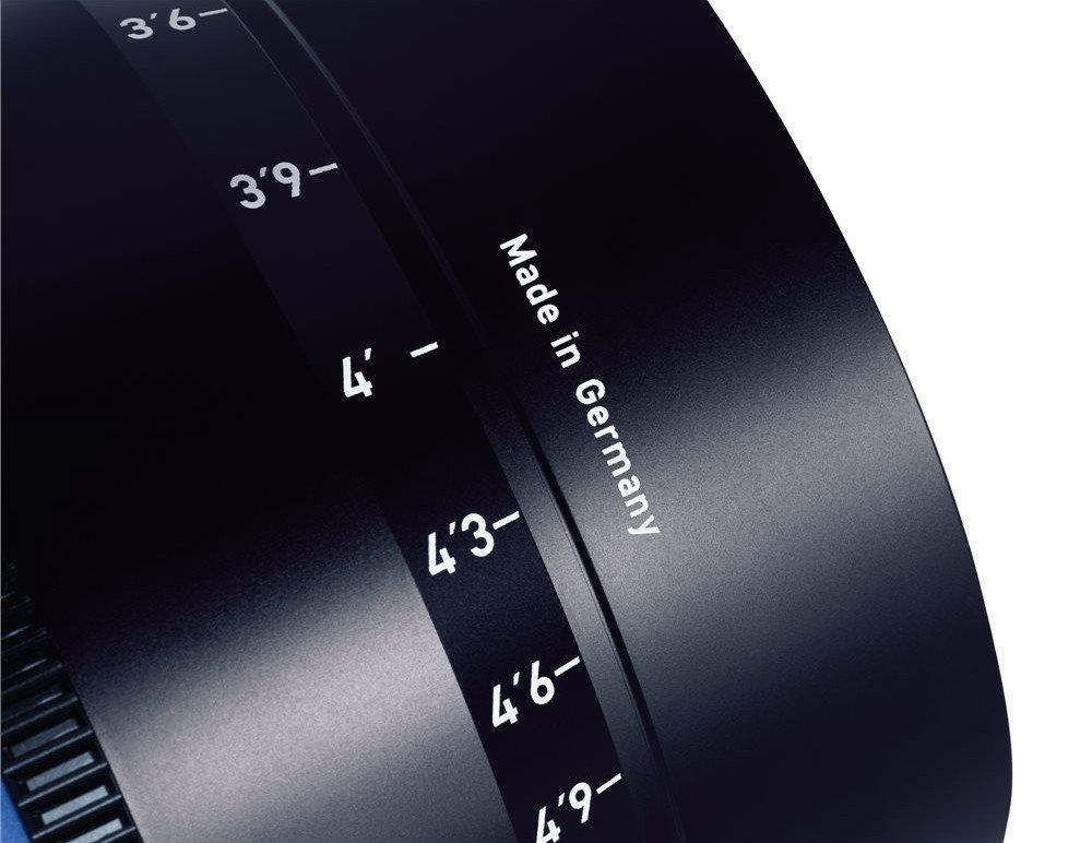 ZEISS CP.3 15 mm T2,9 Distagon T*  MFT-mount
