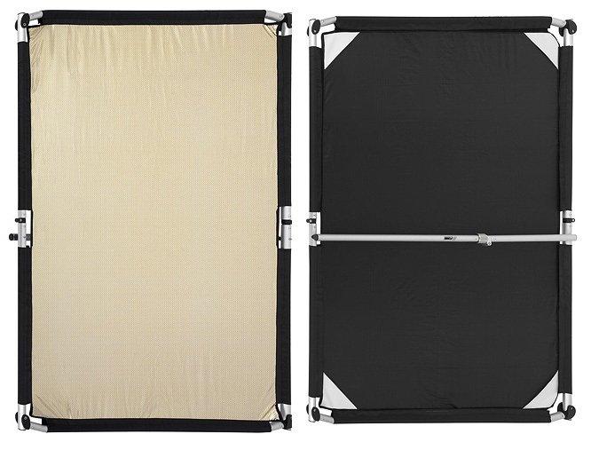 FOMEI Quick-Clap Slip 1,5 x 2m Gold-Silver stripe/Black