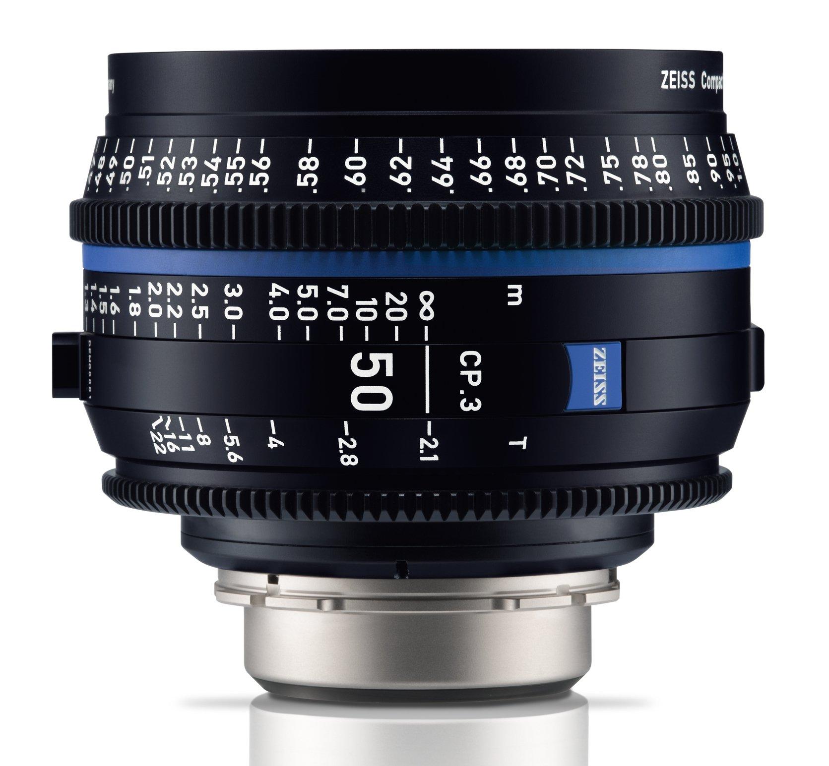 ZEISS CP.3 50 mm T2,1 Planar T* MFT-mount