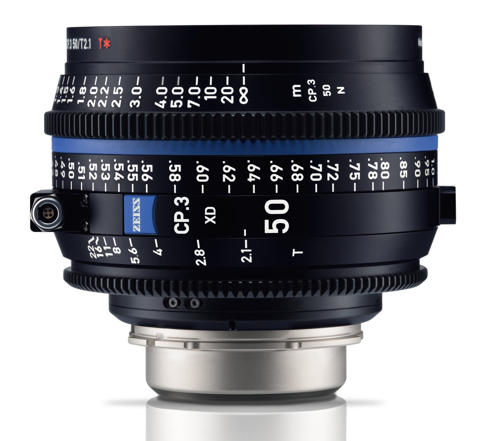 ZEISS CP.3 XD 50 mm T2,1 Planar T* PL-mount