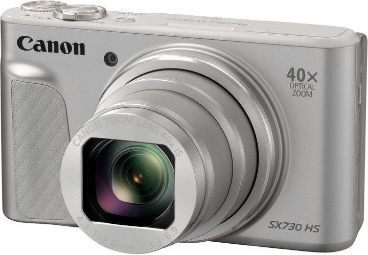 CANON PowerShot SX730 HS stříbrný