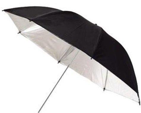 TERRONIC BW-110 studiový deštník černý/bílý