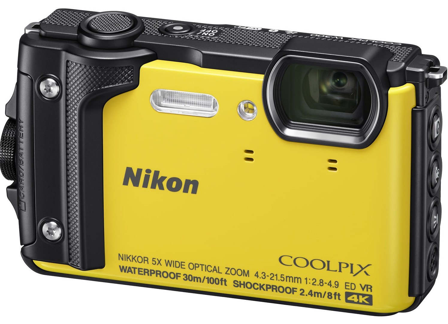 NIKON COOLPIX W300 žlutý Holiday kit
