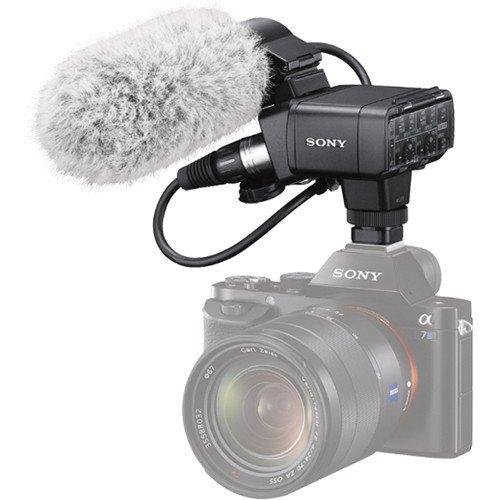SONY Alpha A7S II tělo + XLR-K2M sada adaptéru a mikrofonu