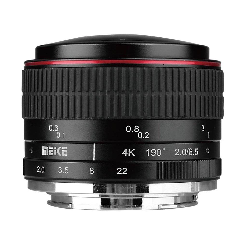 MEIKE 6,5 mm f/2 MC Fisheye circular pro Olympus/Panasonic MFT