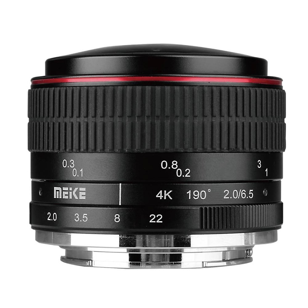 MEIKE 6,5 mm f/2 MC Fisheye circular pro Nikon 1