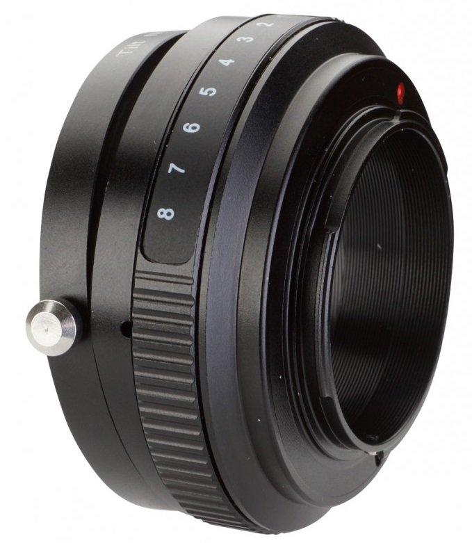 B.I.G. tilt adaptér objektivu Pentax K na tělo Olympus/Panasonic MFT