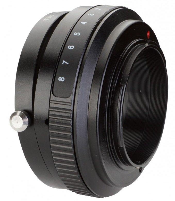 B.I.G. tilt adaptér objektivu Pentax K na tělo Sony E (APS-C)