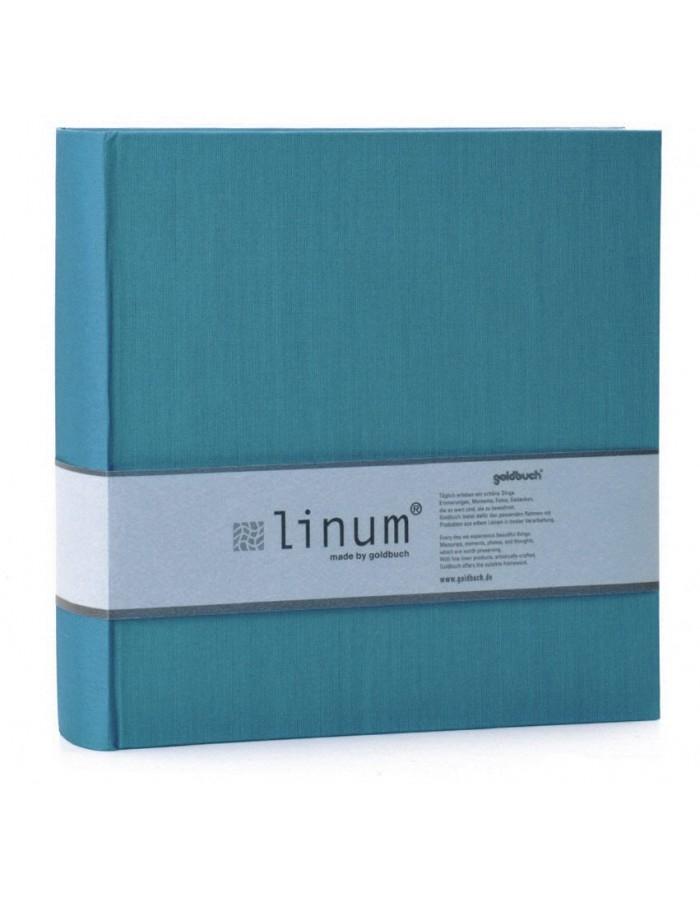 GOLDBUCH LINUM 10x15/200, sv.modrá, popisové pole