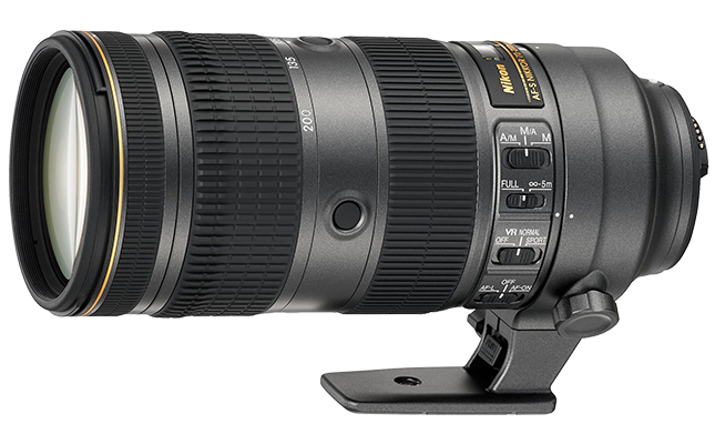 NIKON 70-200 mm f/2,8 E FL ED VR - 100th Anniversary