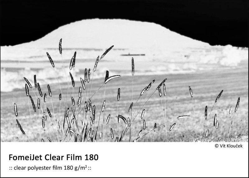 FOMEI Inkjet A4/5 FomeiJet Clear Film 180, testovací balení