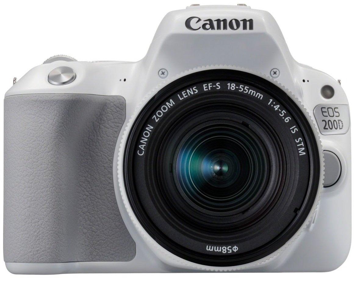 CANON EOS 200D bílý + 18-55 mm IS STM