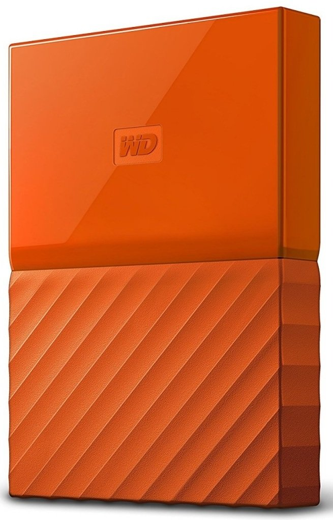 "WD My Passport 1TB Ext, 2,5"" USB3.0, Oranžový"