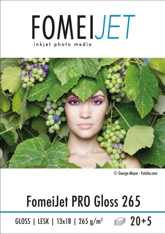 FOMEI FomeiJet PRO lesk 265 g 13x18/20+5 Ks Gloss