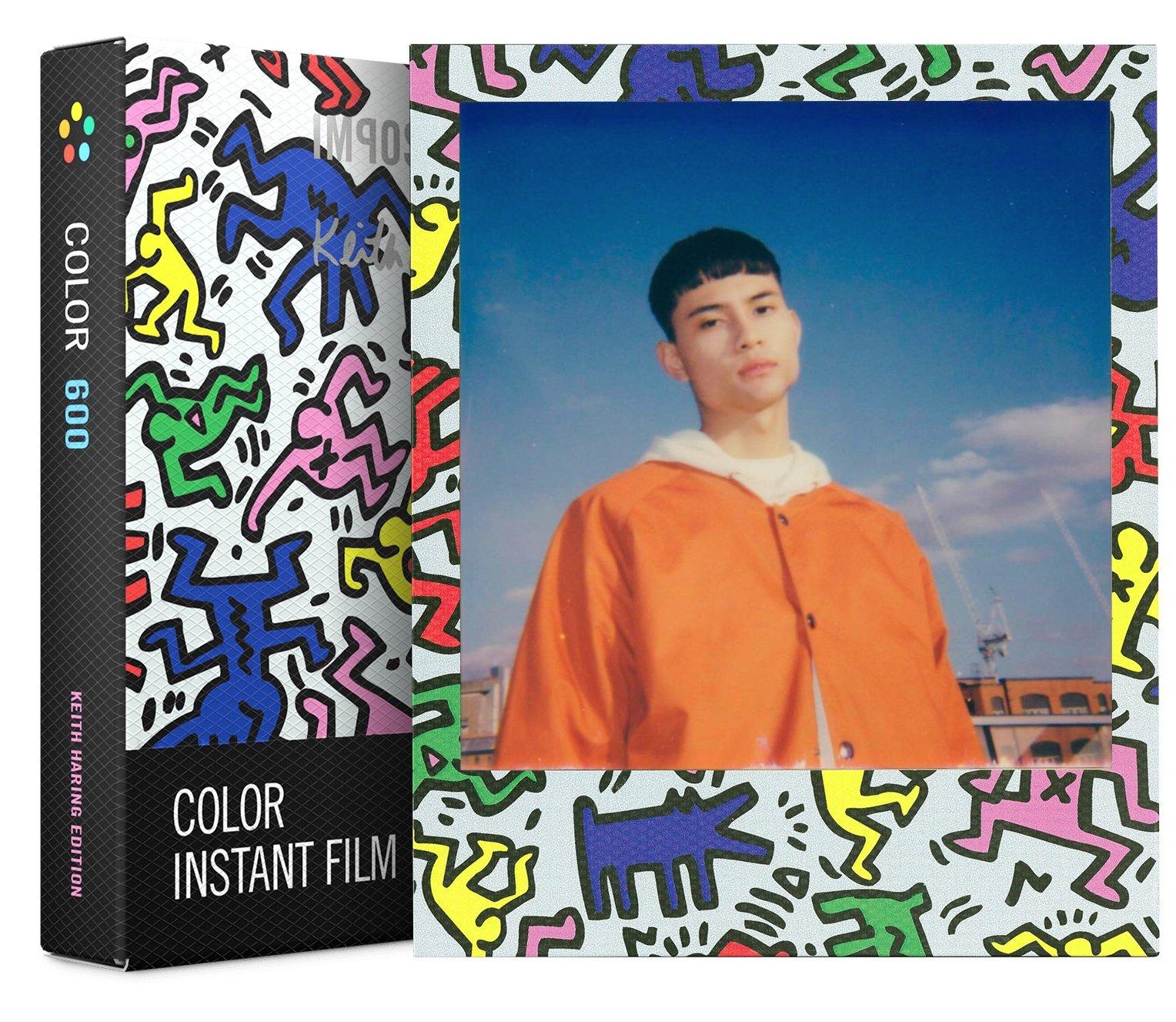 IMPOSSIBLE barevný film pro Polaroid 600/8ks Keith Haring edice