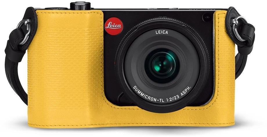 LEICA popruh + pouzdro Protector žluté pro Leicu TL