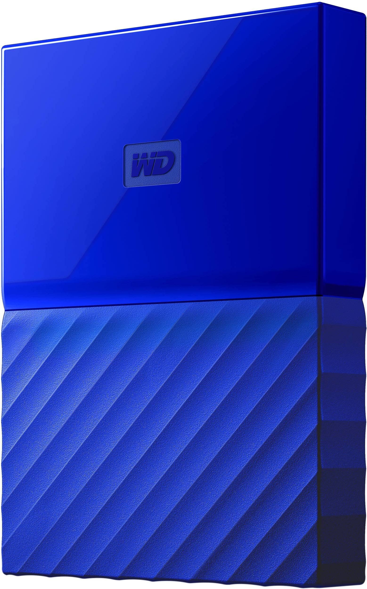 "WD MY PASSPORT 2TB Ext. 2.5"" USB3.0, modrý"