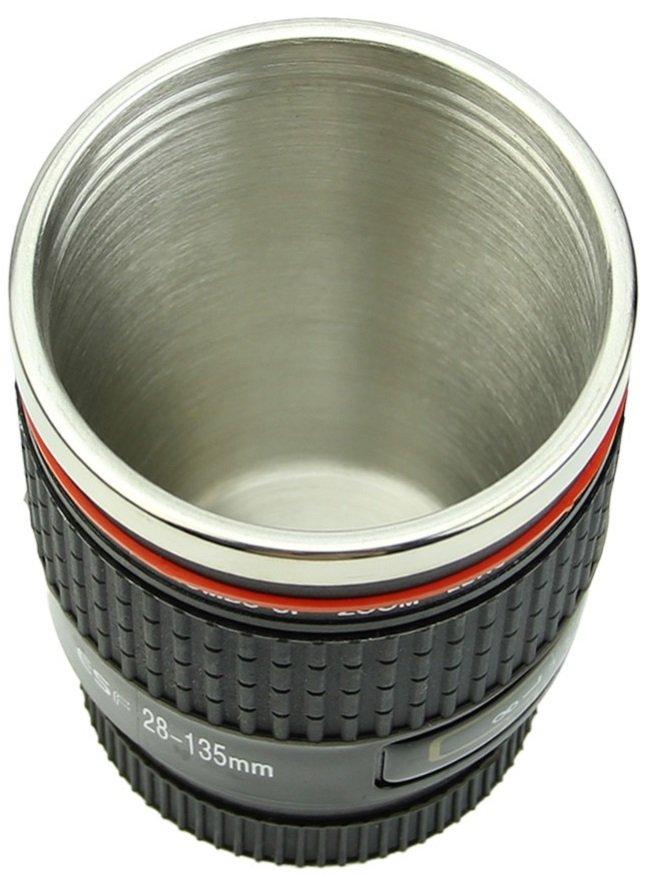 CANIAM termohrnek objektiv 28-135 mm černý (nerez)