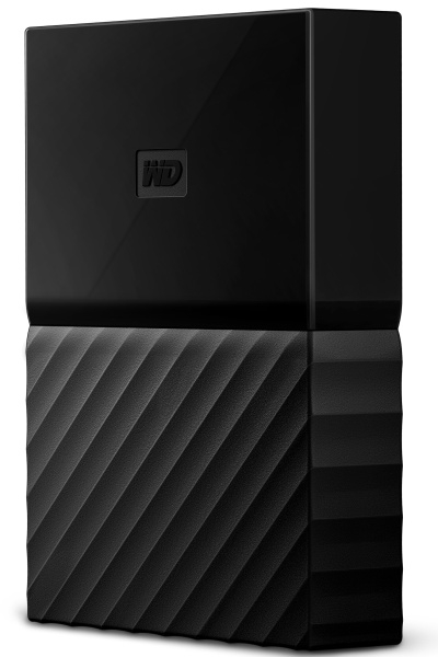 "WD My Passport 4TB Ext, 2,5"" USB3.0, černý"