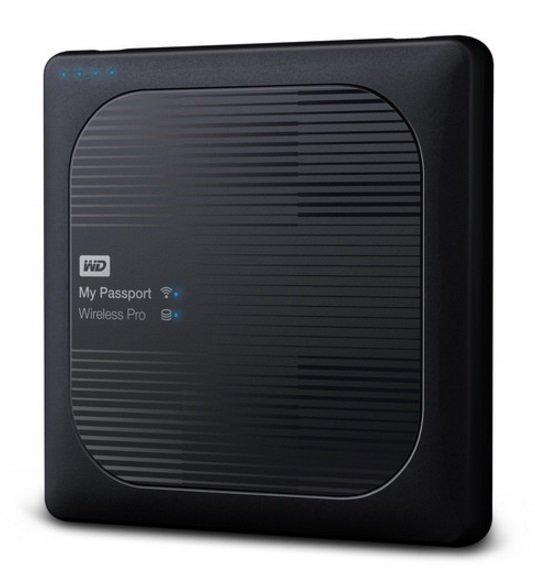 "WD MY Passport Wireless PRO 2TB Ext. 2.5"" USB3.0, černý"
