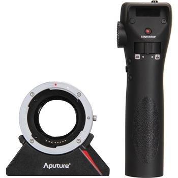 APUTURE dálkově ovládaný DEC adaptér pro objektivy Canon na MFT