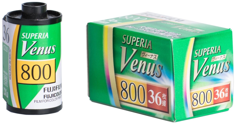 FUJIFILM SUPERIA Venus 800/135-36