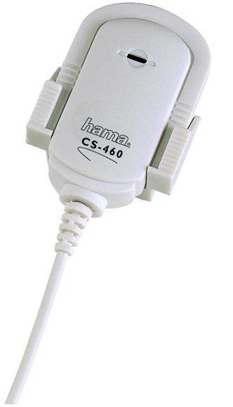 HAMA mikrofon klopový MicroClip CS-460 bílý