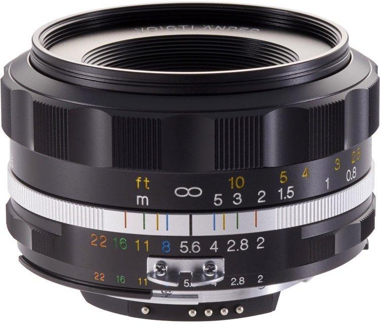 VOIGTLÄNDER 40 mm f/2,0 MF Ultron SL II-S Asph. černý pro Nikon