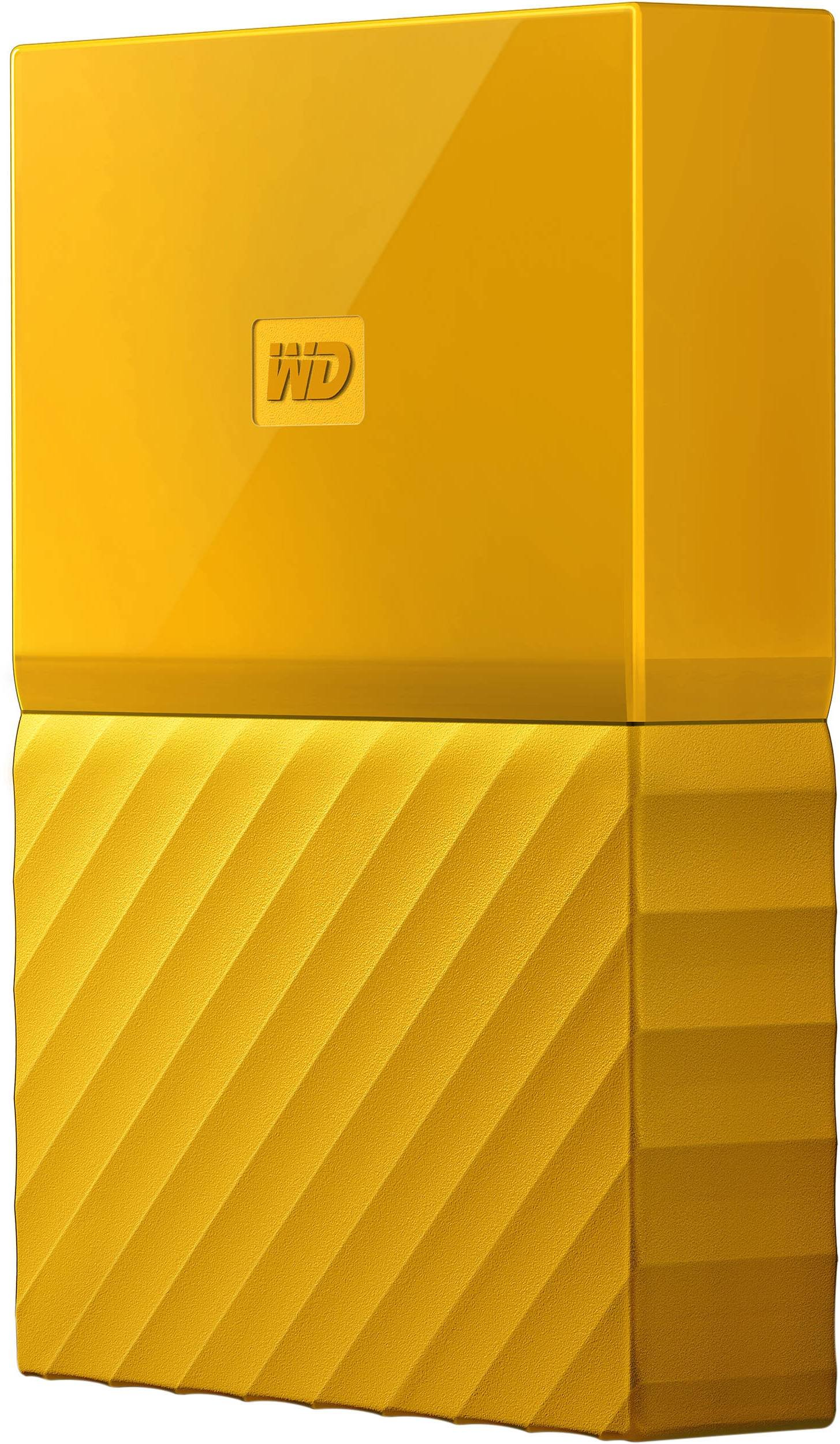 "WD MY PASSPORT 2TB Ext. 2.5"" USB3.0, žlutý"