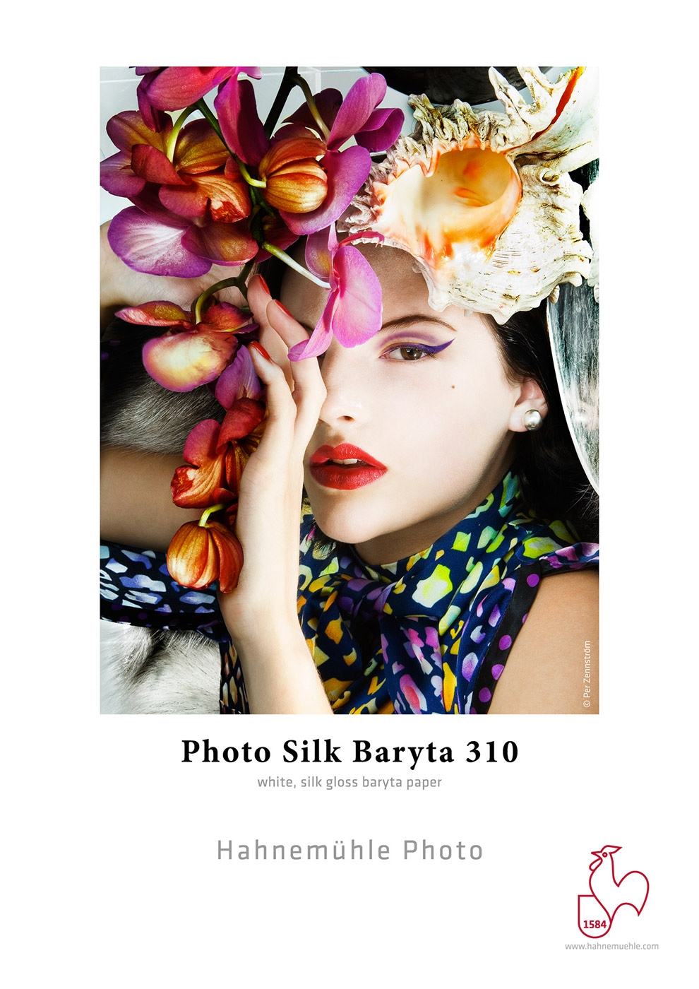 HAHNEMÜHLE Photo Silk 310 baryta A4/10 listů