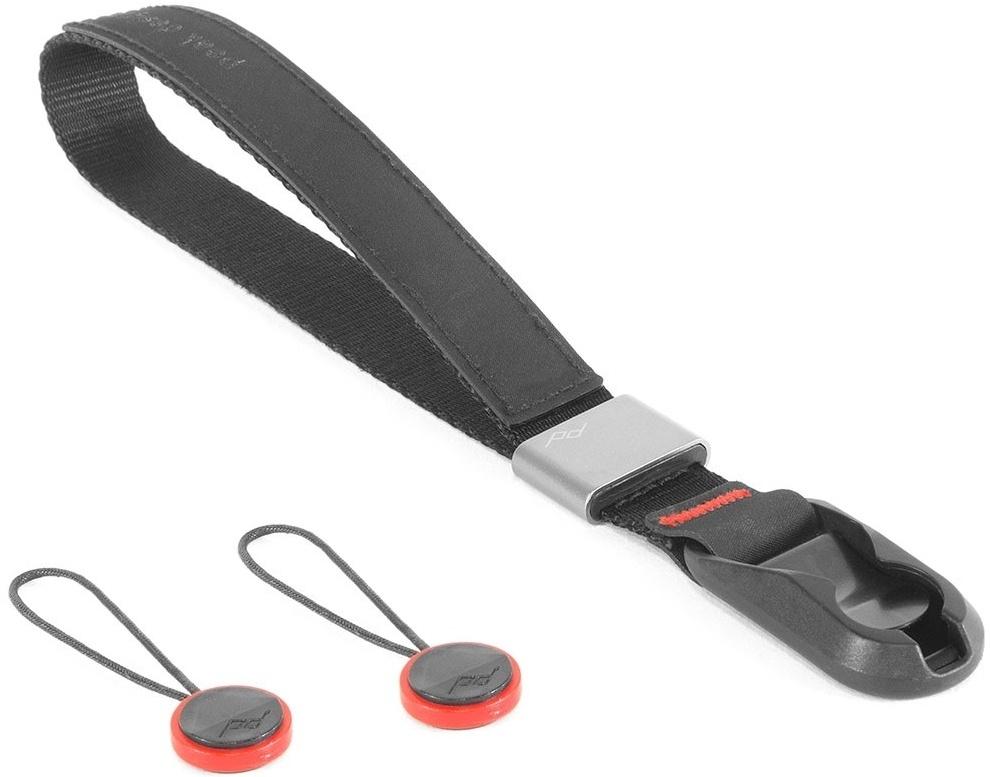 PEAK DESIGN Cuff řemínek na zápěstí Charcoal černá