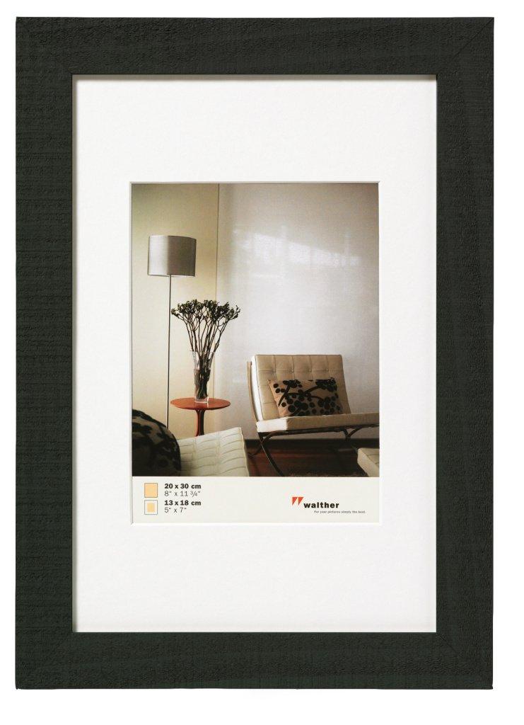 WALTHER HOME 21x30, dřevo, černá