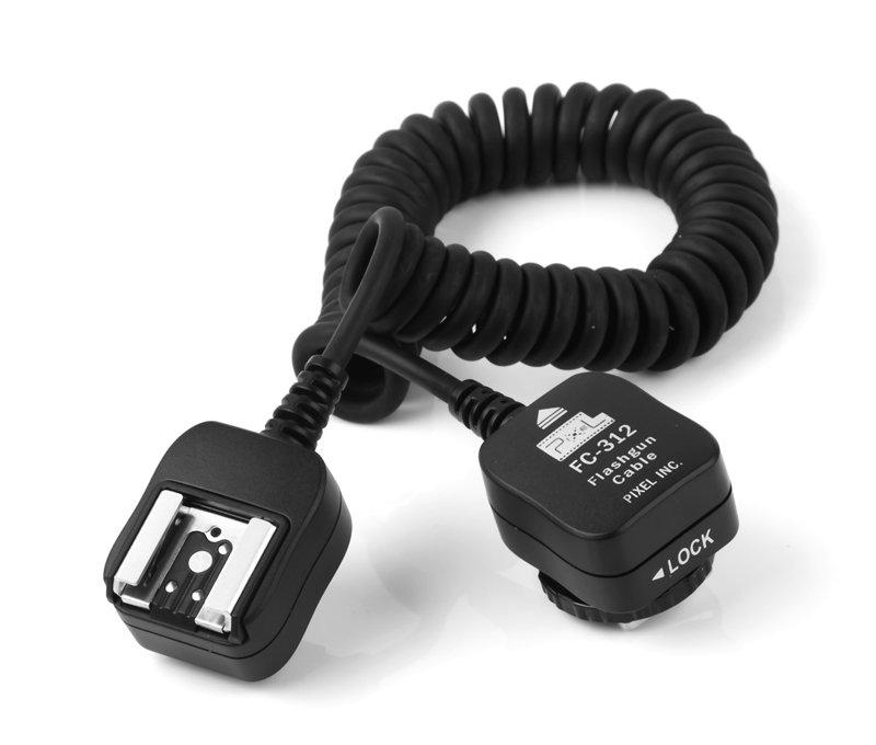 PIXEL propojovací kabel k blesku FC-312 pro Nikon 1,8 m