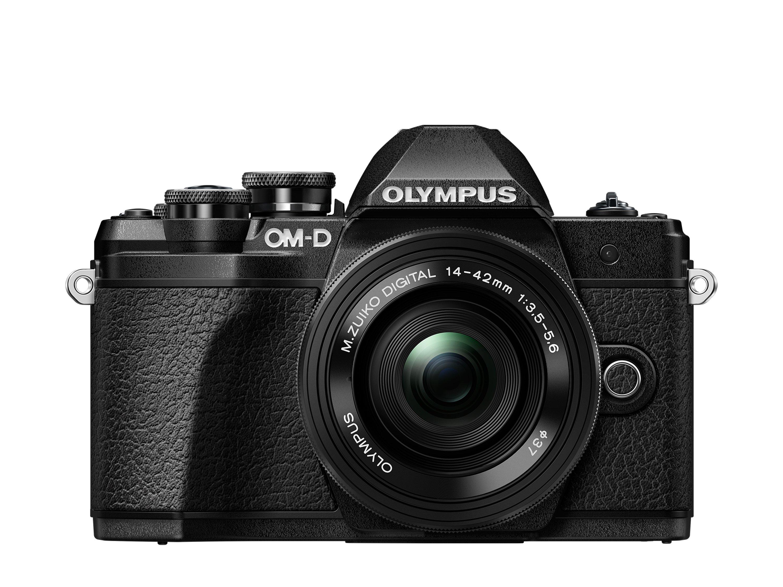 OLYMPUS E-M10 Mark III černý + 14-42 II černý