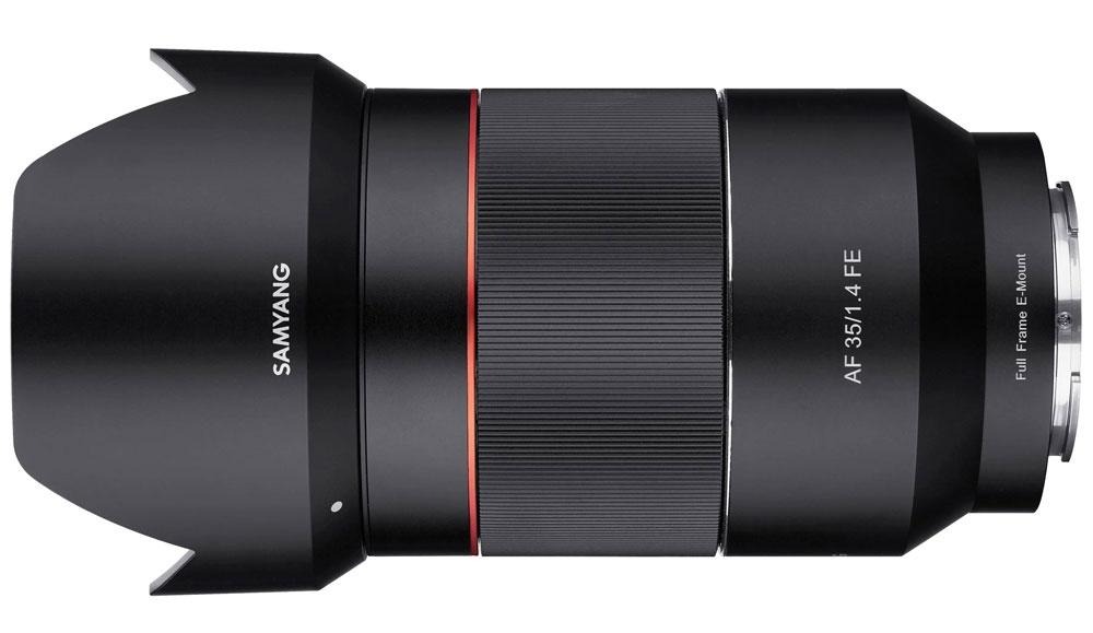 SAMYANG 35 mm f/1,4 AF FE pro Sony E