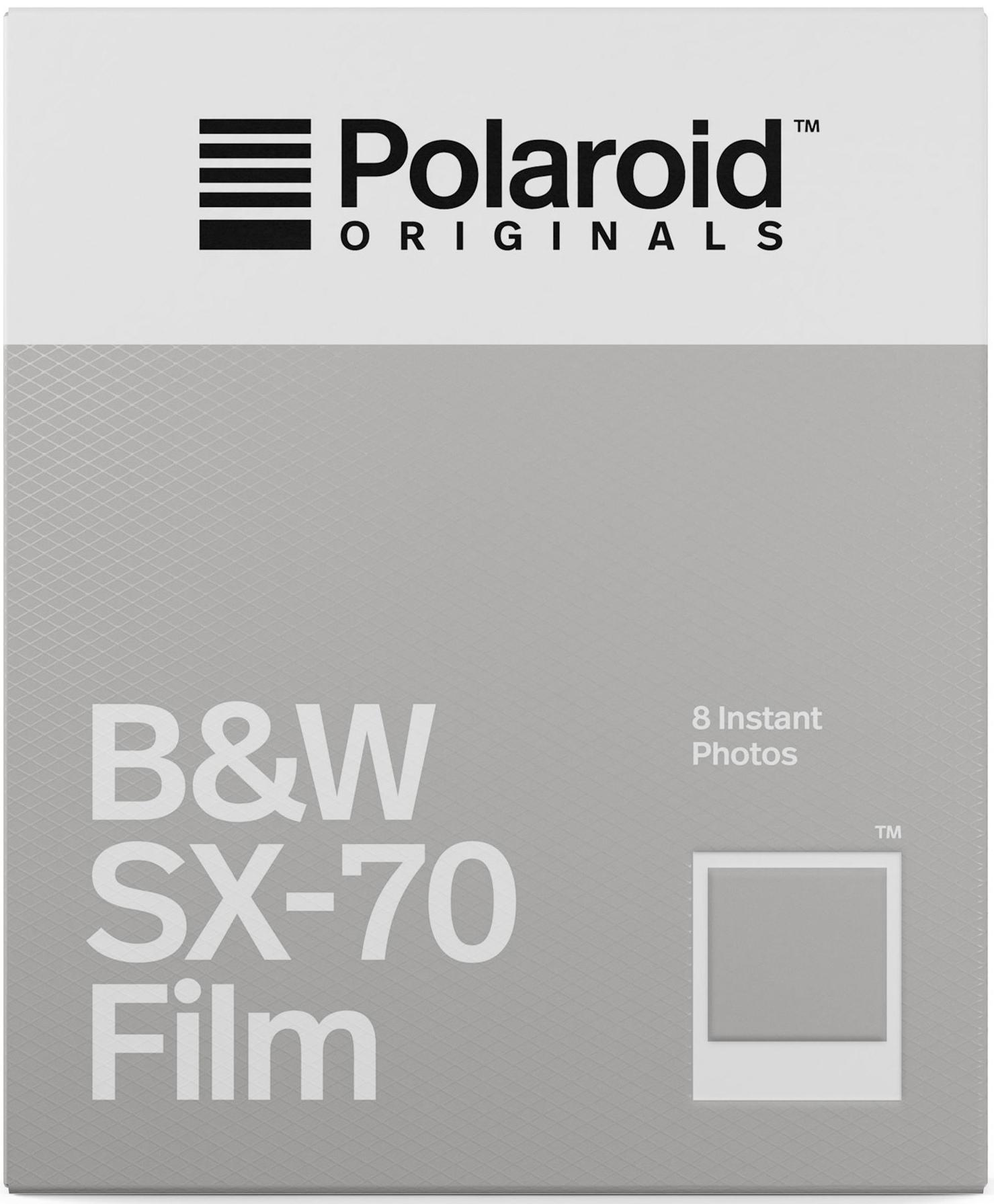 POLAROID ORIGINALS černobílý film pro Polaroid SX-70/8 ks