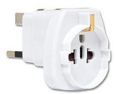 ECOLITE zásuvkový adaptér pro použití v UK